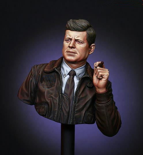 pre order-Resin toys LM-B016 JFK, the 35th President of the United States Free shipping недорого