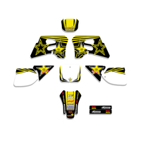 Motorcycle Star Team Graphics Backgrounds Decals Stickers For Suzuki RM125 RM250 RM 125 250 1993 1994 1995
