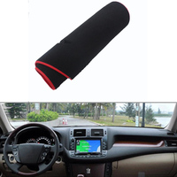 For Toyota Crown 2010 2012 Car Dashboard Avoid Light Pad Instrument Platform Desk Cover Mat Silicone