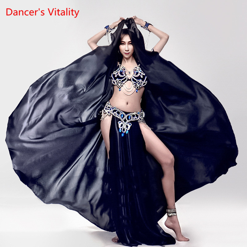 New Custom Made Performance Dance Stage Wear 2018 Women Belly Dance Clothes Professional Belly Dance Costume Set