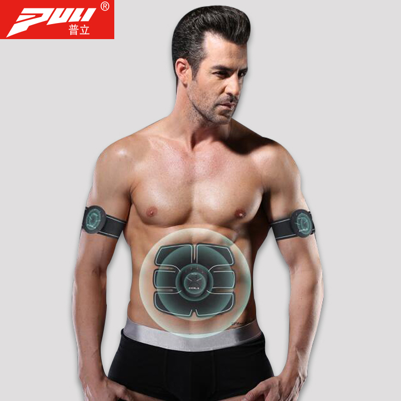 PULI Body Weight Loss Massage Muscle Stimulator Intelligent Fitness Abdominal Machine EMS Trainer Body Slimming Massage Belt