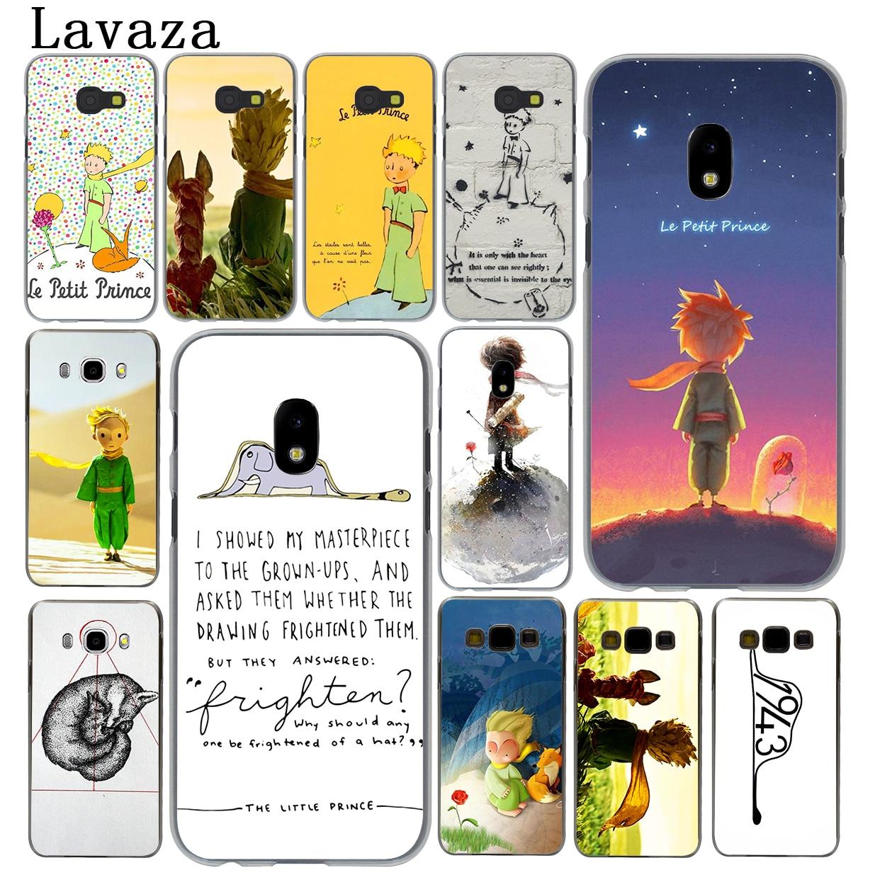 Lavaza The little prince Rose fox Hard Phone Case for Samsung Galaxy J5 J1 J2 J3 J7 2017 2016 2015 2018 J3 J5 Prime Cover