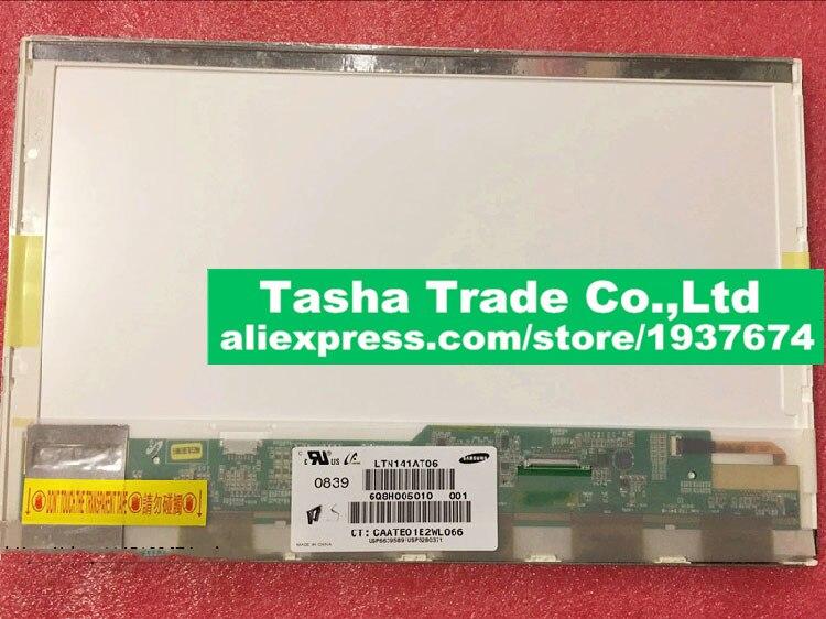 LTN141AT06 LTN141AT06 001 LCD Screen LED Display 1280*800 Silver Small 40 PIN Connector Matte