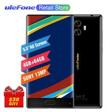 Ulefone Mix Smartphone 4G 5.5 inch MTK6750T Octa Core Android 7.0 4GB RAM 64GB ROM Fingerprint 13MP Dual Camera Mobile phone(China)