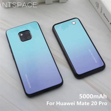 NTSPACE Wireless Magnetic Battery Charger Case For Huawei Mate 20 Pro 5000mAh Portable Backup Power Bank Back Clip