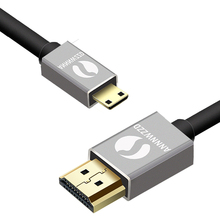 ANNNWZZD Mini HDMI to HDMI Cable Gold-Plated HDMI 1.4V 1080P 1m 1.5m 2m 3m High Premium HDMI Adapter Cable for Tablet Camcorder