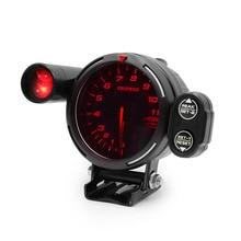 CN скорость 80 мм 7 цветов автоматический Тахометр Датчик 0-11000 об./мин Высокоскоростной шаговый двигатель с светильник переключения передач и пиковое предупреждение