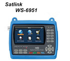 Genuine SATLINK WS-6951 DVB-S/S2 HD Digital Satellite Finder Satellite Meter FTA with MPEG-2/MPEG-4 compliant and backlight