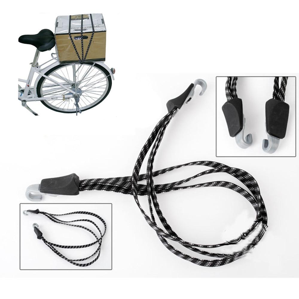 70cm Elastic Bicycle Handlebar Rope Hooks Bandage Straps Belt Packing Rope Tie