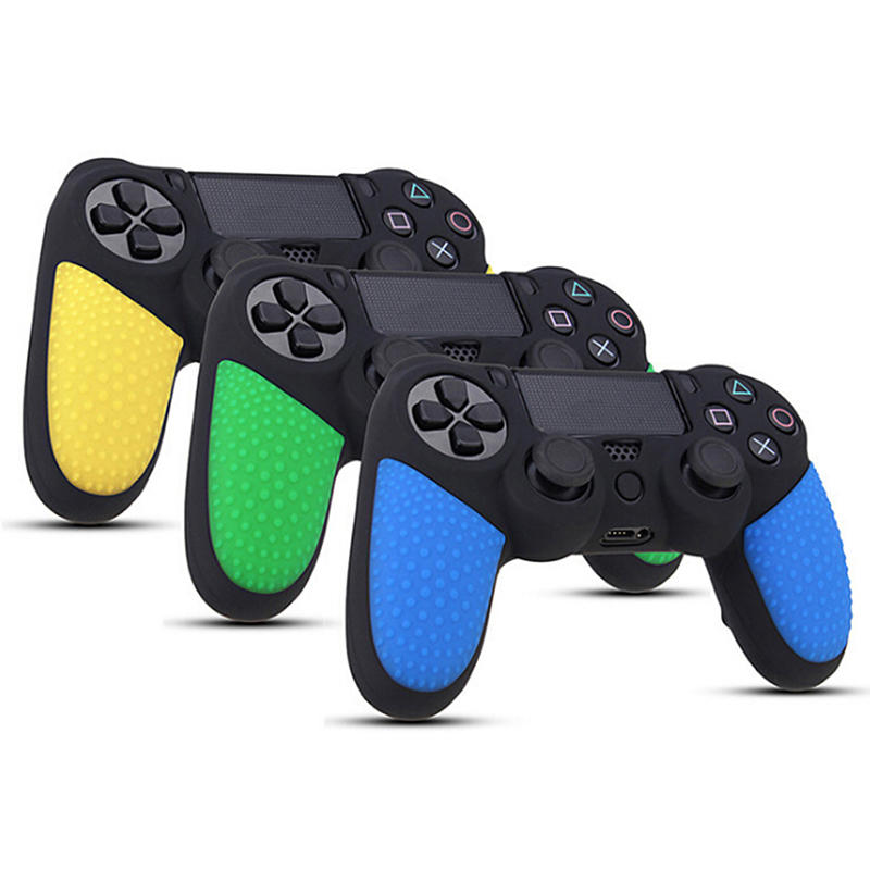 1pc Silicone Analog Thumbstick Grip Caps Protective Skin Cover <font><b>Case</b></font> For Sony Playstation Dualshock 4 <font><b>PS4</b></font> <font><b>Controller</b></font> Gamepad image
