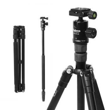 Selens TA-359 travel tripod SLR camera monopod portable outdoor photography triangle bracket
