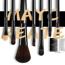 7Pcs/Set Makeup Brushes Kit Soft Synthetic Hair Eyeshadow Eyelash Powder JIU55