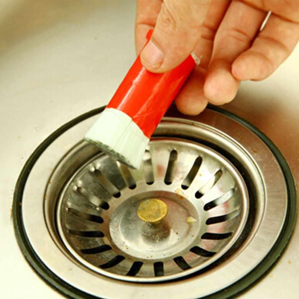 Nieuwe Rvs Staaf Magische Stok Roest Remover Cleaning Wassen Borstel Veeg Pot Multifunctionele reinigingsapparatuur (Willekeurige Kleur)