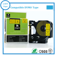 2PCS Compatible Dymo D1 Label Maker 12mm 45018 For Dymo Labelmanager Printer Labelling Tape Typewriter Ribbon Cartridge 45018