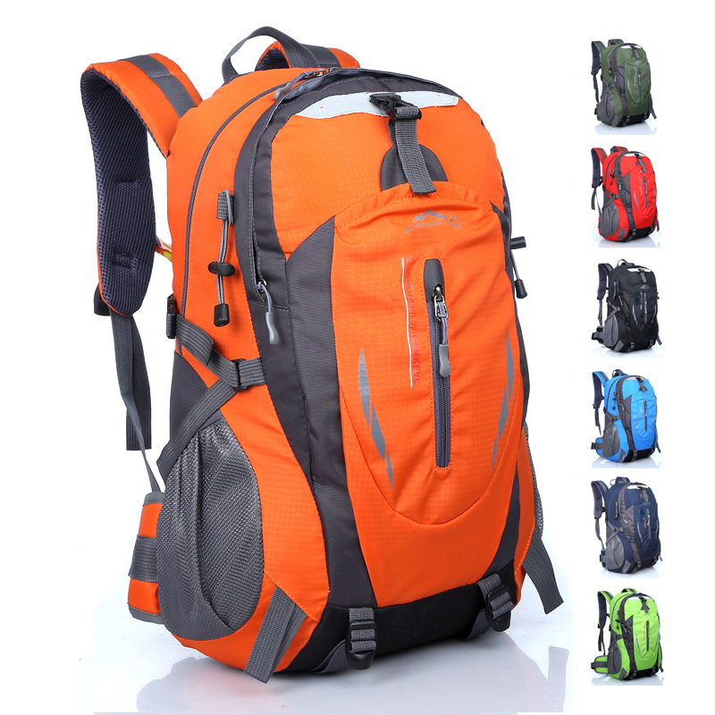 GYKZ New Large Capacity 40L Outdoor Tourist Backpack Women & Men Waterproof Hiking Backpack Sport Camping Rucksack 7 Color HY152 men large capacity outdoor sport backpack multifunction hiking page 3