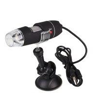 1000X USB Portable Light Electric Handheld Digital Microscope Rack Suction