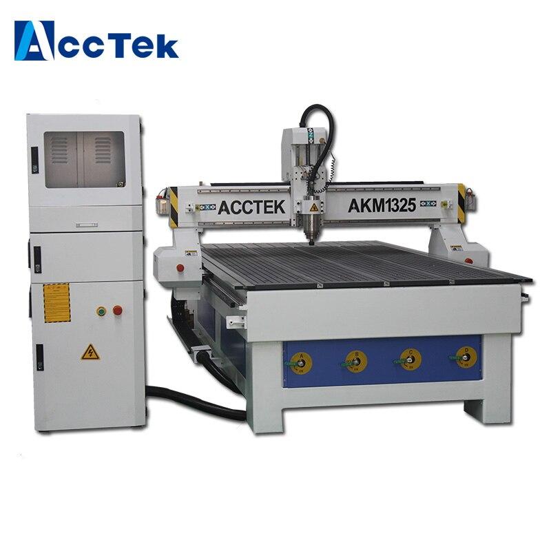 Acctek aluminium panneaux composites 1325 avec bonne qualité bois CNC routeur pour bois aluminium mdf etc.