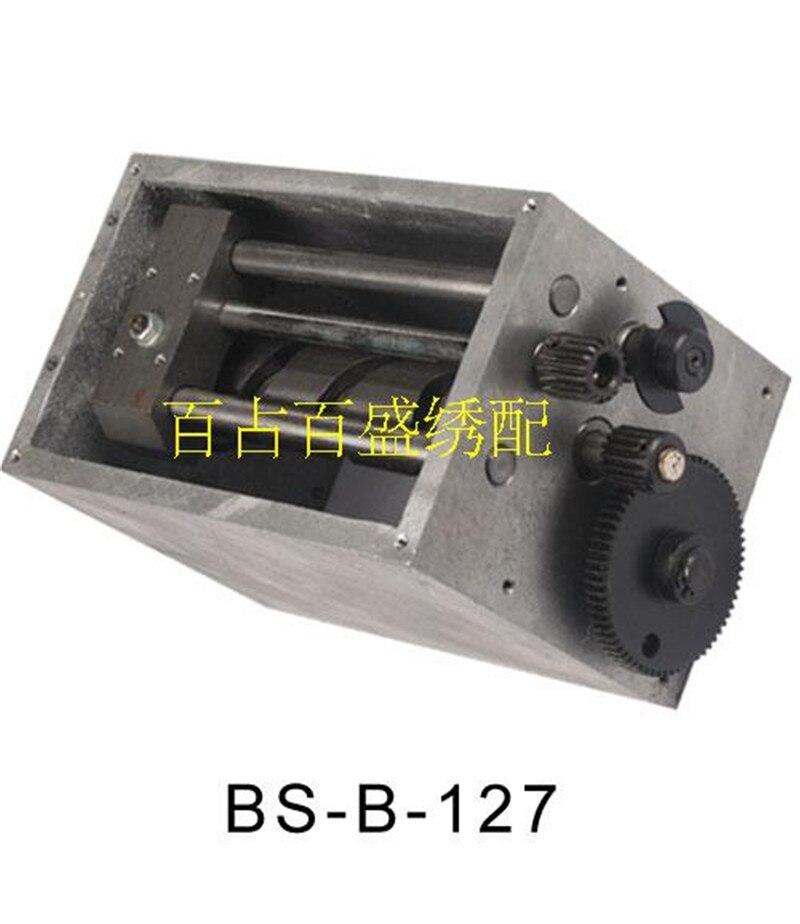 Brodé avec fournir ordinateur broderie machine pièces 6, 9 broches pour la couleur boîte