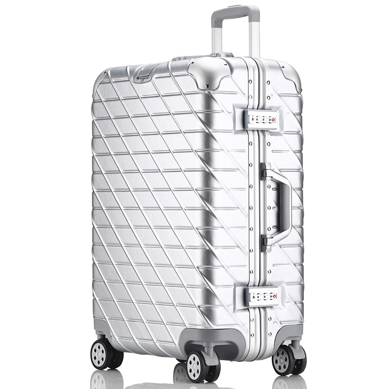 29 inch High capacity Rolling Luggage Spinner Suitcase Wheels 20 inch Hardside Carry on Trolley Aluminum Frame Travel Bag oxford rolling luggage spinner men business suitcase wheels 20 inch carry on trolley password 30 inch high capacity travel bag