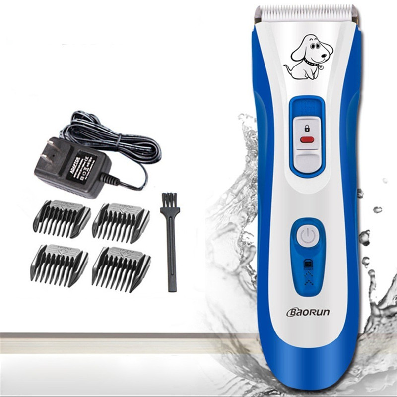 BaoRun P5 Professional Cat Dog Hair Trimmer Electrical Pet Hair Clipper Remover Cutter Dog Grooming Pet Product Haircut Machine codos 3300 pet electric nail grinder dog cat paw trimmer grooming clipper tool