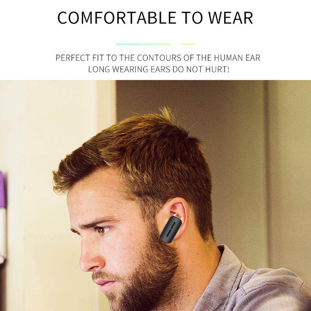 Image 2 - 5.0 Stereo Earbuds Standby King Single Ear Wireless Bluetooth Waterproof Earphone Car Business Wireless Earphone Gaming Earphone-in Bluetooth Earphones & Headphones from Consumer Electronics