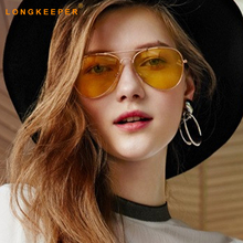 LongKeeper Mens Anti Glare Driving Sunglasses WomenS Night Vision Glasses Mirror Unisex Protective Goggles