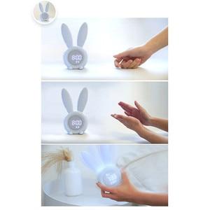 Image 3 - นาฬิกาปลุก Creative น่ารักกระต่ายนาฬิกาปลุก LED Digital Snooze การ์ตูนนาฬิกาอิเล็กทรอนิกส์สำหรับห้องรับแขก Home Supplies
