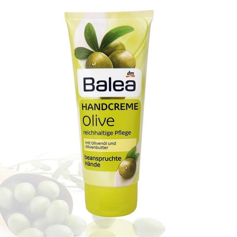 Balea Olive Soins Des Mains Crème pour Sèche Souligné Main Peau Réduire La Sécheresse Apaiser Nourrir Hydratation Intense 24-heure Hydratant