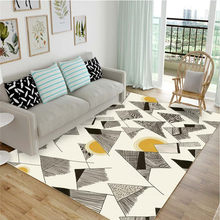 Cute Cartoon Carpet Floor Mat Modern Nordic Living Room Sofa Bedroom Bed Tatami