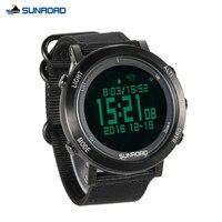 Погодные часы для альпинизма шагомер барометр альтиметр компас водонепроницаемый смарт активный отдых, Спорт часы