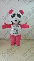 Pink Music Bear Mascot Costumes Character Cool Bear Costumes