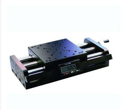 SSP-302MP Digital Manual Stage, High precision Micrometer Screw Linear Translation Platform, Displacement Station, 75mm Travel