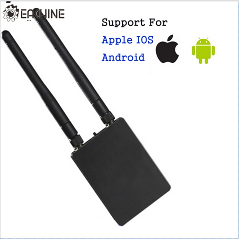 Eachine 5.8G 150CH Wired Wifi Switched FPV Receiver For Android for Apple IOS Mobile Phone Tablet Smartphone Drone Transmitter eachine ts840 rc840 5 8g 40ch racerband fpv transmitter receiver module