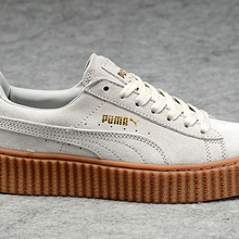 62b2565683fe New arrive Puma by Rihanna Suede Creepers women s and men shoes Breathable  Badminton Shoes Sneakers size