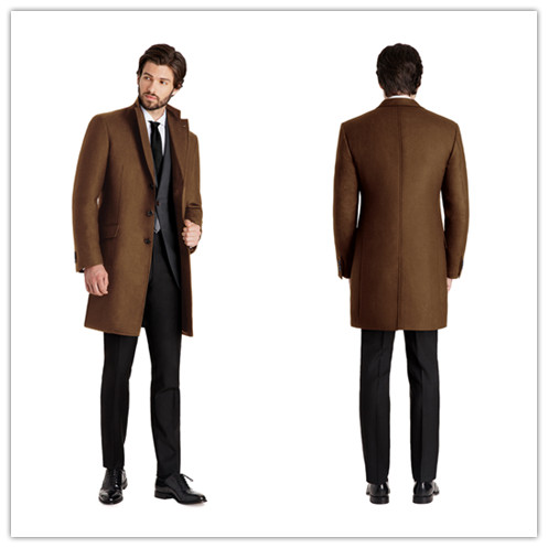 Brown Peacoat Promotion-Shop for Promotional Brown Peacoat on
