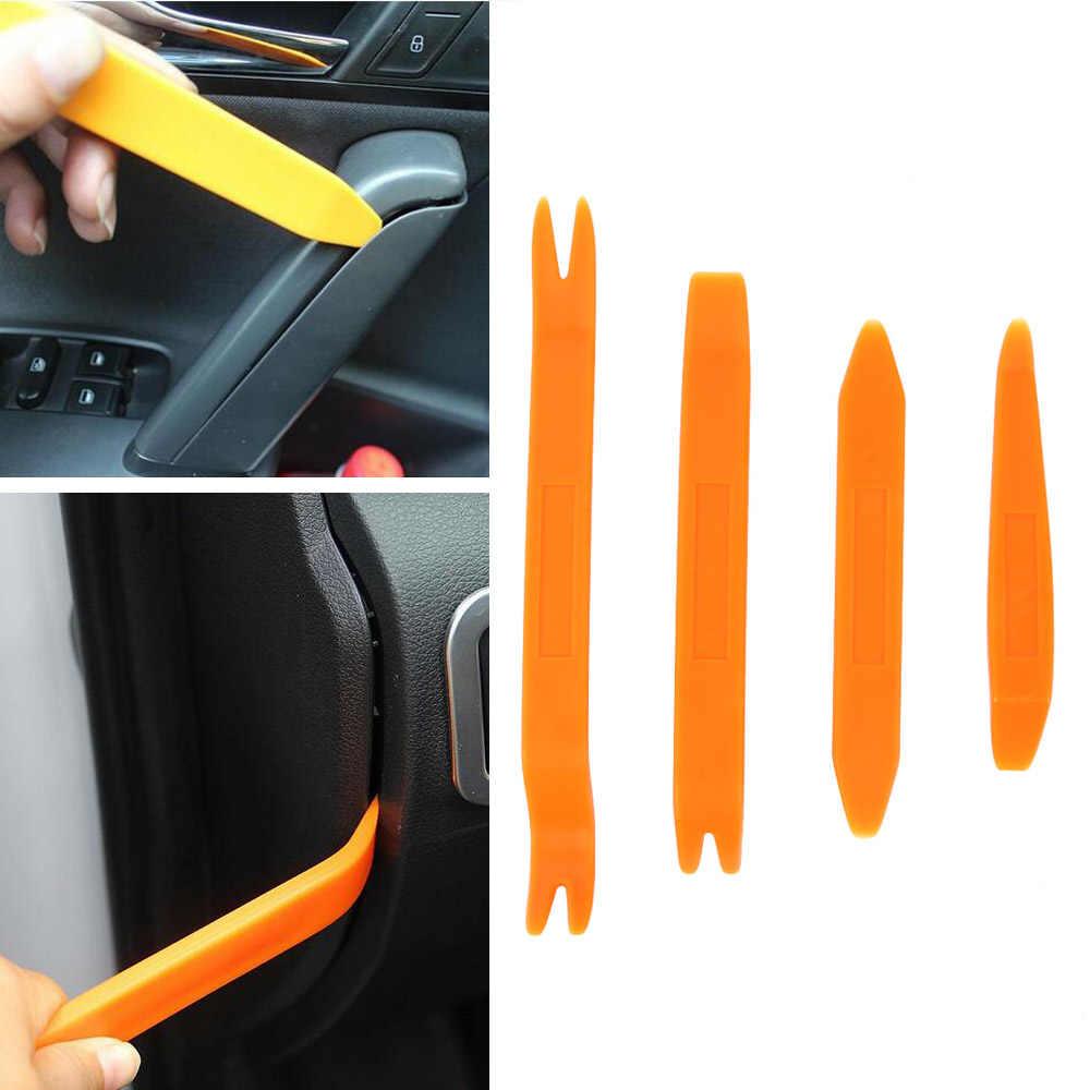 4pcs Car Trim Removal Tools Auto Door Panel Dash Radio Body Clip Open Pry Kit
