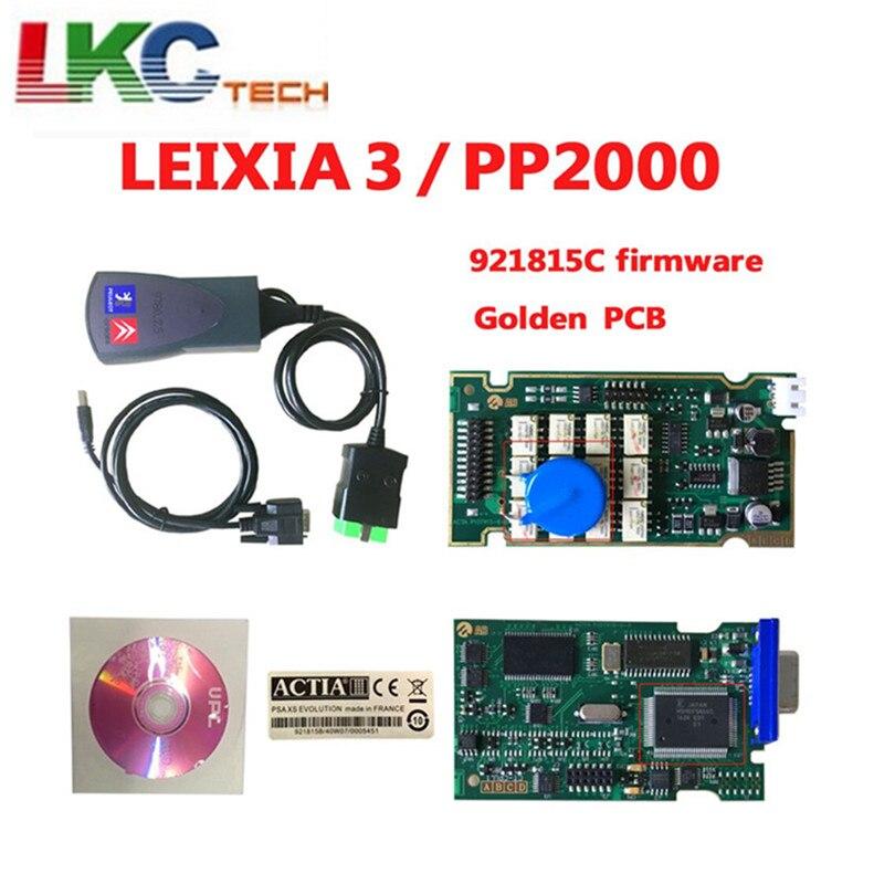 Lexia3 with lite version Firmware 921815C Golden PCB lexia PP2000 Lexia 3 Diagbox V7.83 Lexia3 diagnostic tool все цены