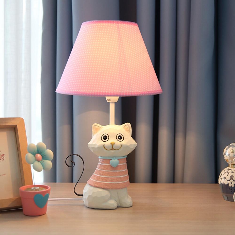 Kids pink lamp children room pink bedside lamp ev lovely for Lamp for kids room