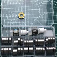 Roulement Miniature à gorge profonde, billes radiales, pour imprimante 3D, 50 pièces/lot, 608 ZZ 608-2RS 8x22x7 608Z