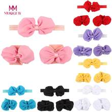 MUQGEW High Quality Baby Girls Toddler Flower Hairband headband Flower Barefoot Sandal Baby Head Bands Baby Hair Accessories(China)