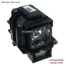 Nec lt280/lt375/lt380/lt380g/vt470/vt670/vt675/vt676 용 하우징이있는 새로운 고품질 vt75lp 프로젝터 램프