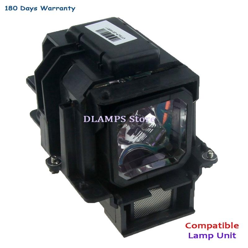 Nouvelle lampe de projecteur VT75LP de haute qualité avec boîtier pour NEC LT280/LT375/LT380/LT380G/VT470/VT670/VT675/VT676-in Projecteur Ampoules from Electronique    1