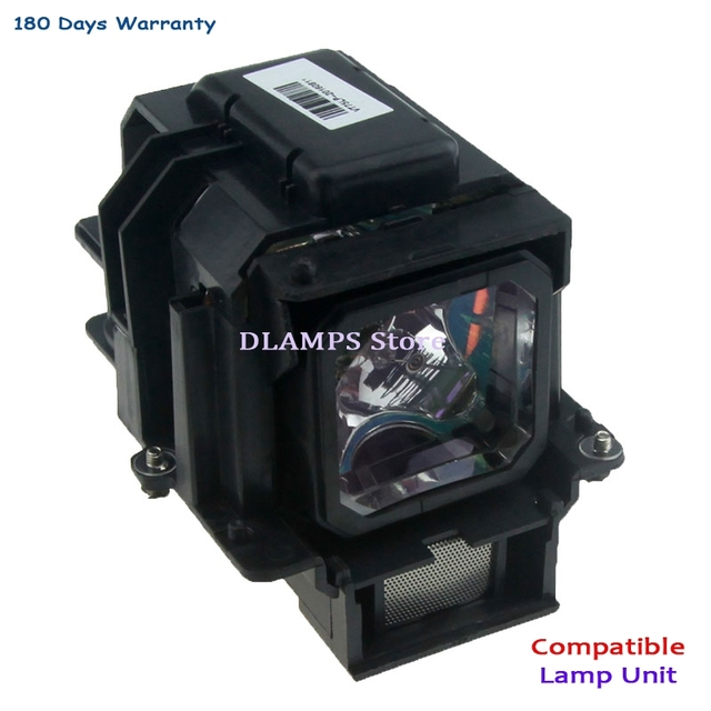 חדש לגמרי באיכות גבוהה VT75LP מנורת מקרן עם דיור עבור NEC LT280/LT375/LT380/LT380G/VT470/ VT670/VT675/VT676