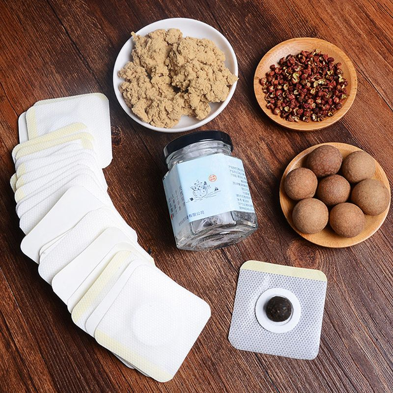 Moxibustion Artemisia Navel Stick Lazy Body Cold Warm Paste in Massage Relaxation from Beauty Health