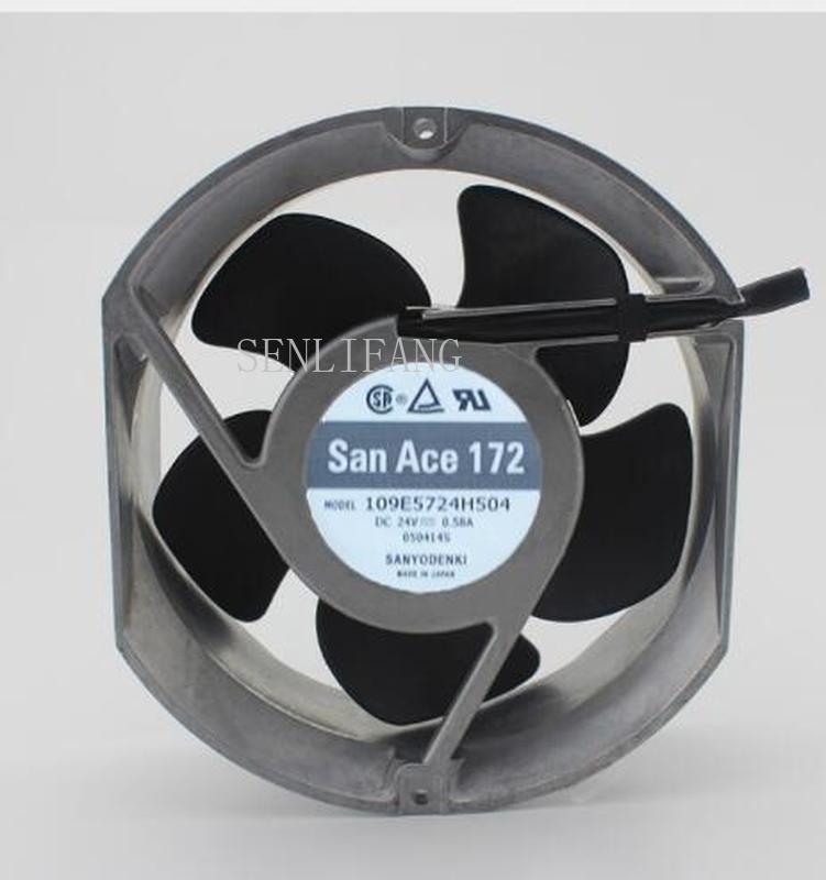 Free Shipping  Original 109E5724H504 17251 24V 0.58A 172*150*51 17CM Inverter Fan
