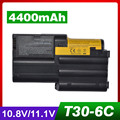 4400 мАч аккумулятор для ноутбука Lenovo IBM ThinkPad T30 02K7034 02K7037 02K7038 02K7050 02K7051 02K7073 FRU 02K7072