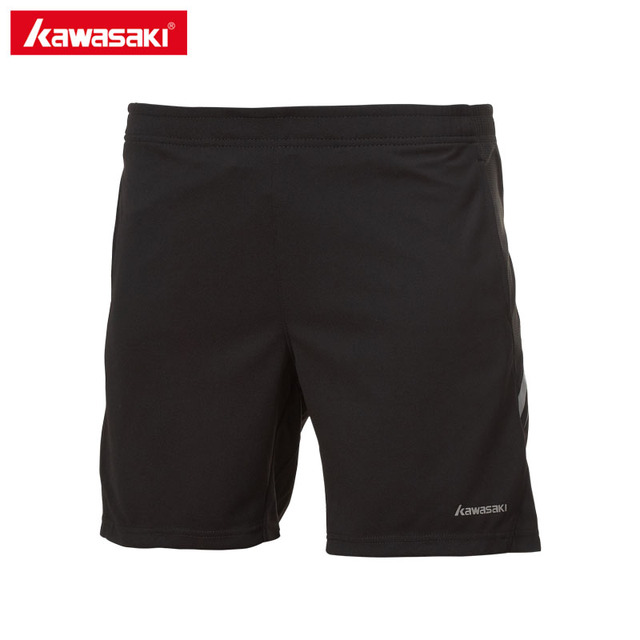 Kawasaki Summer Unisex Running Shorts Men 100% Polyester Quick Dry Fitness Workout Run Sports Shorts for Male SP-173606