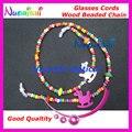 Envío libre L820 Niños Niños gafas de sol de Color Con Cuentas de cristales de gafas cadena correa cuerdas holder