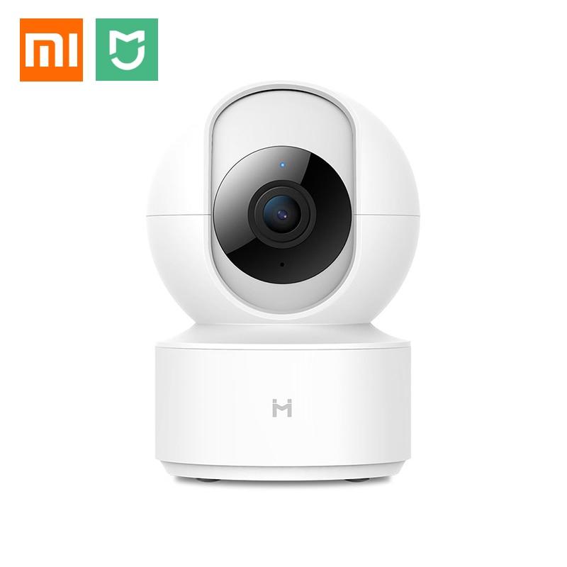 Xiaomi Mijia IMILAB Smart Home IP Camera 1080P HD WiFi 360 Angle Cam AI Humanoid Detection Night Vision Monitor Pan-tilt Webcam