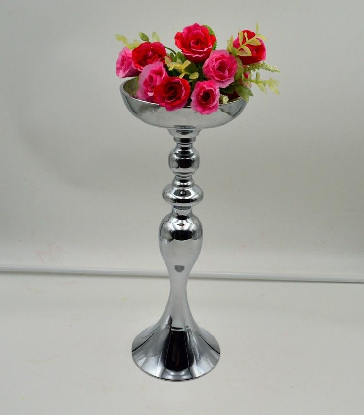 3850cm Tall Silver Flower Vase Flower European Style Wedding
